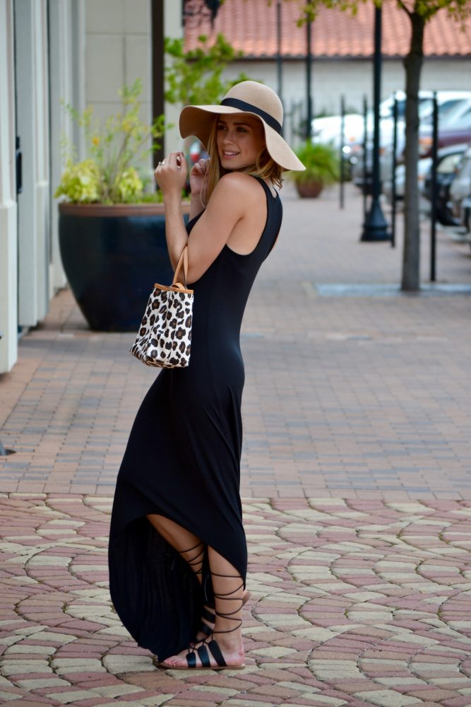 High/Low Maxi Dress