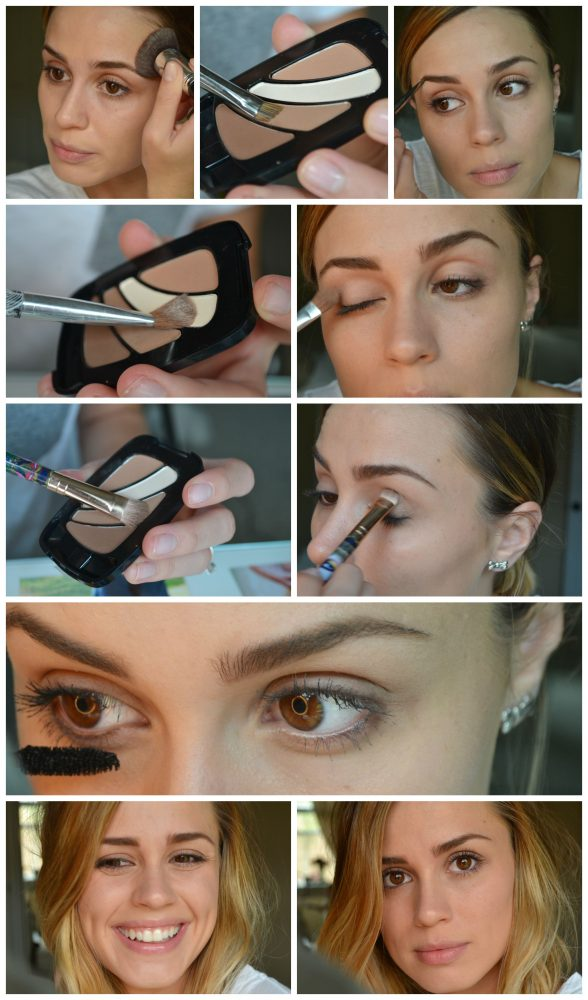 Houston beauty and lifestyle blogger Elly from Uptown With Elly Brown shares 3 Easy Makeup looks. Brows to smokey eye tutorials with L'Oreal Makeup. // 5 Minute Makeup Tutorial