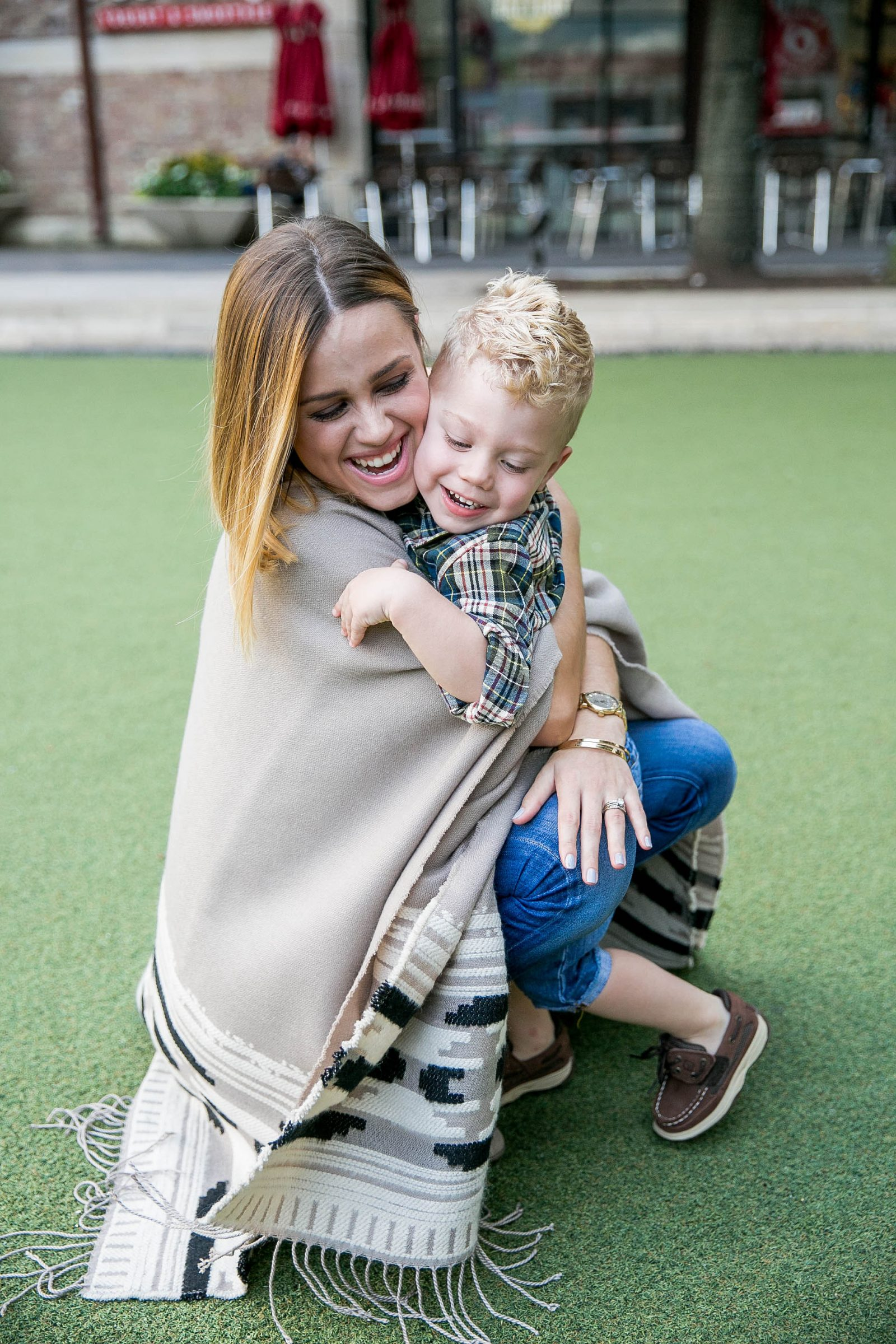 A look at the perfect Fall outfit for mommy and me day dates + 5 ideas for your next day date.