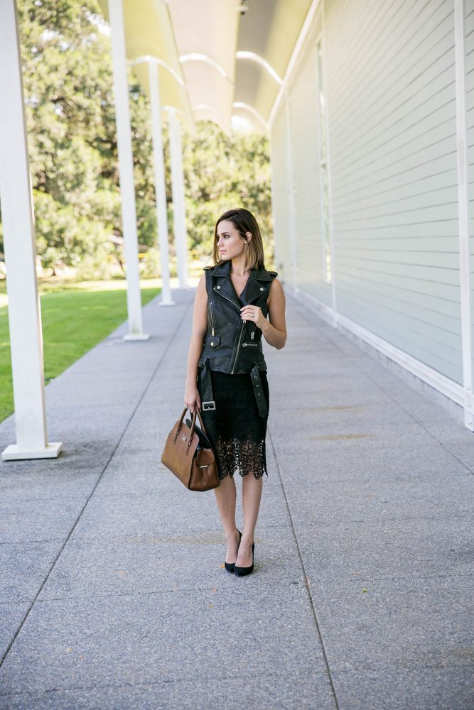 Lace Skirt outfit