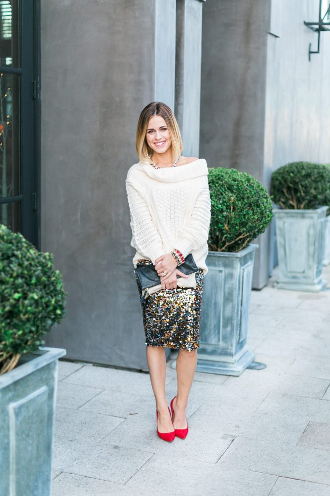new year's eve look - New Years Eve Outfit by Houston fashion blogger Uptown with Elly Brown