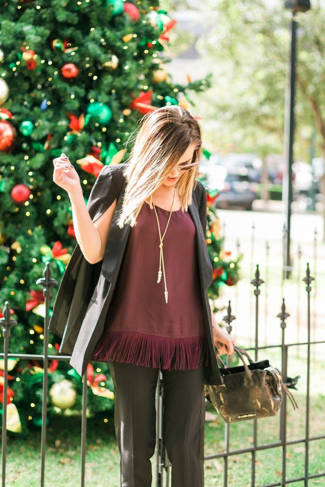 holiday outfit Menswear: Holiday Outfit edition by Houston fashion blogger Uptown with Elly Brown