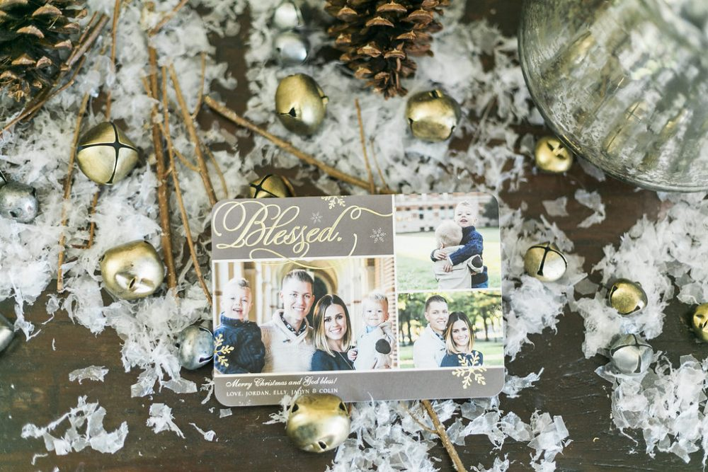 Family Christmas Cards with Tiny Prints