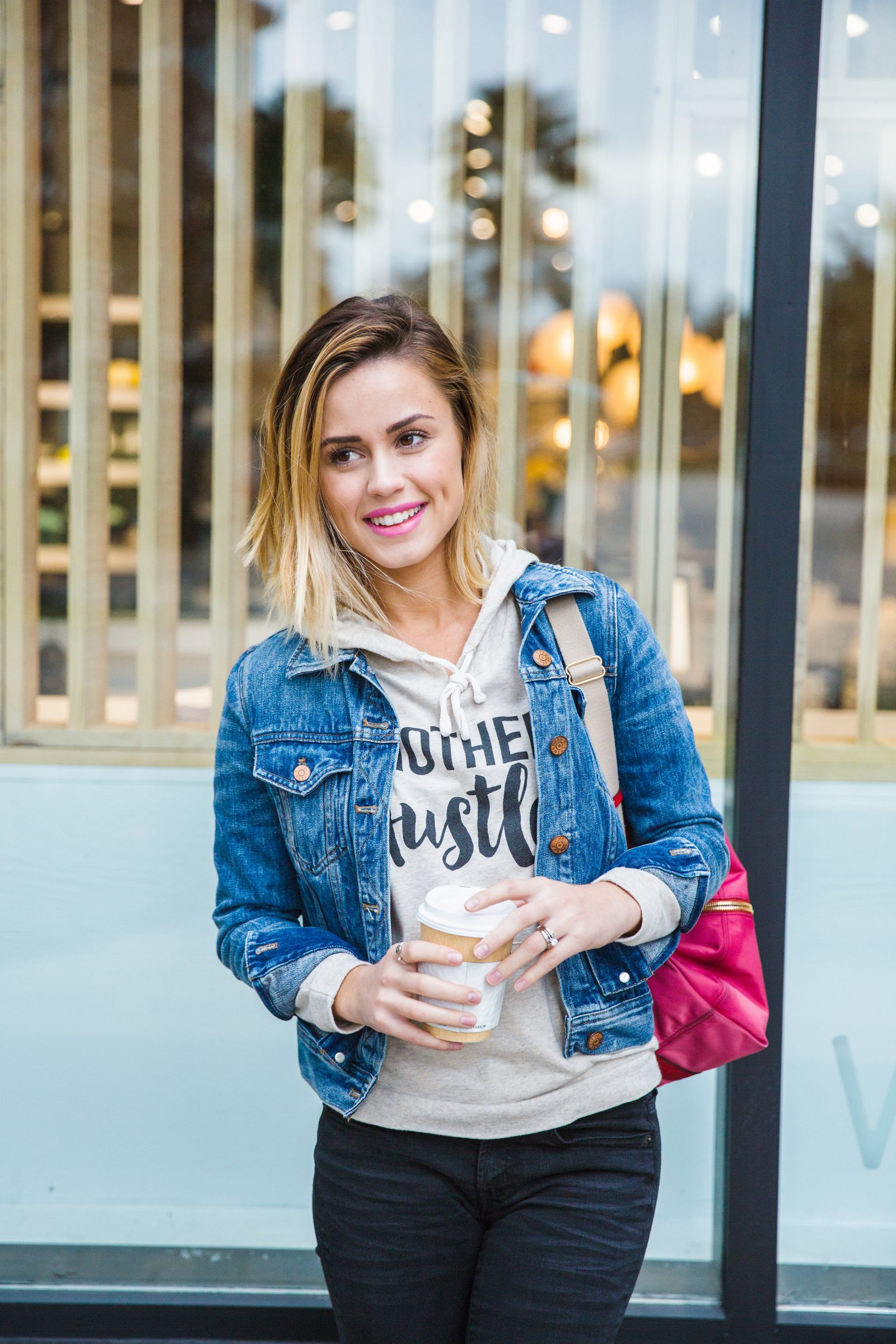 Houston fashion blogger Elly Brown shares How to Mix Different Colored Denim for an easy and casual look.