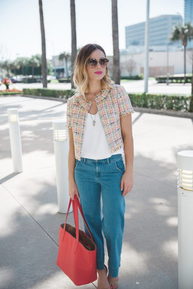 Casual Spring look and spring esstensials