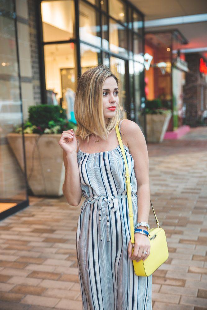 Tucker camisole summer dress