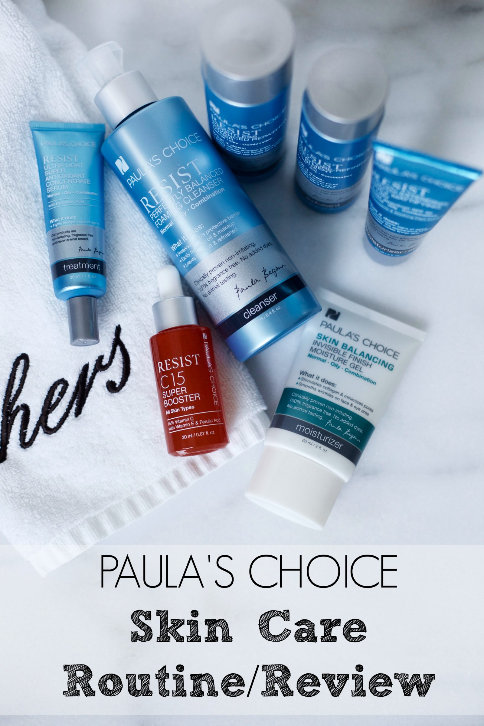 Looking for Paula's Choice Skincare Review? Houston beauty blogger Uptown with Elly Brown shares her thoughts and opinions on Paula's Choice!