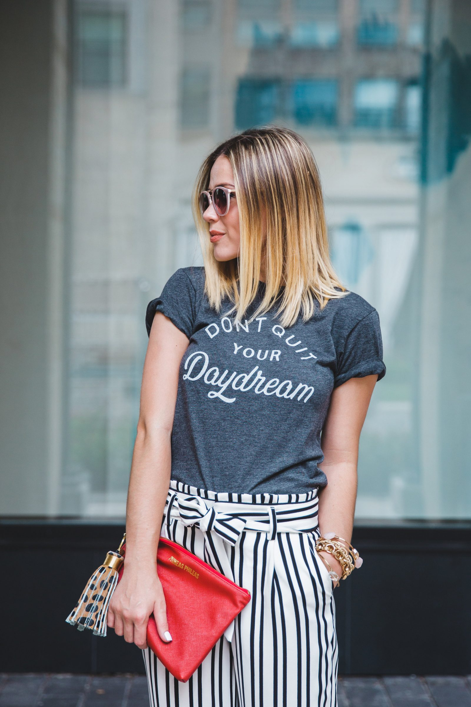 Houston blogger Elly Brown breaks down her tips on how to start a blog + a business casual look to help motivate you to just do it!