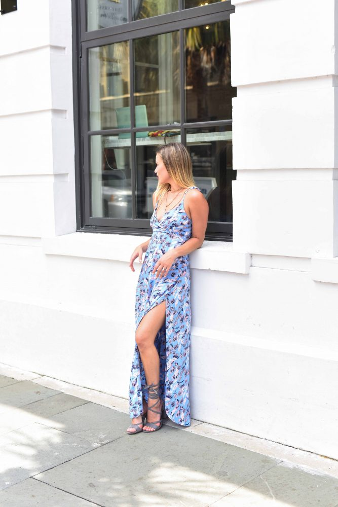Summer Maxi Dress | Floral Maxi | Uptown with Elly Brown