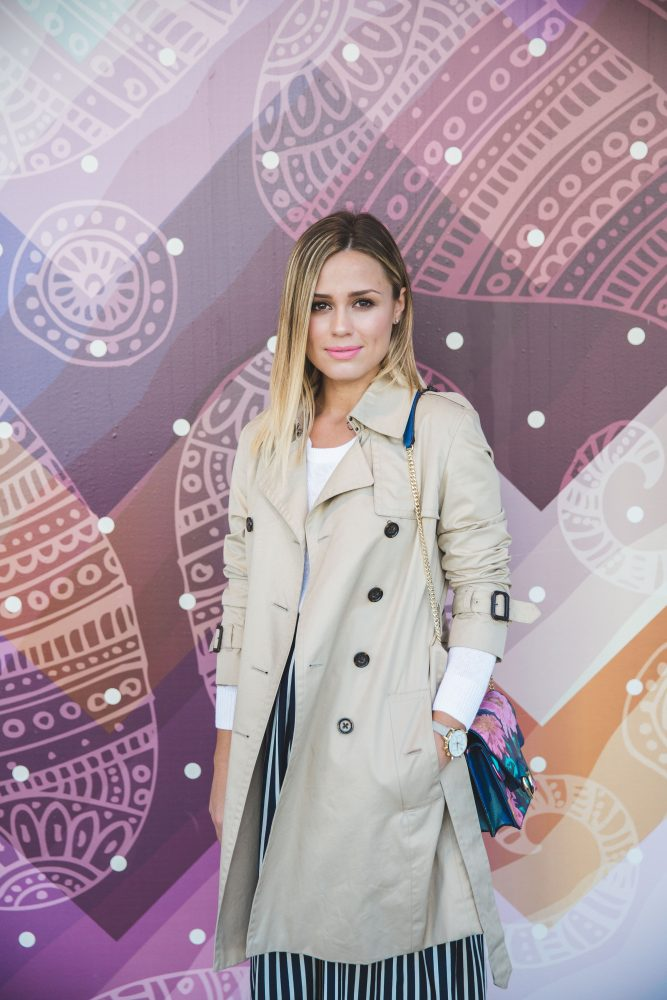 Office Chic outfit | Trench Coat outfit | Uptown with Elly Brown