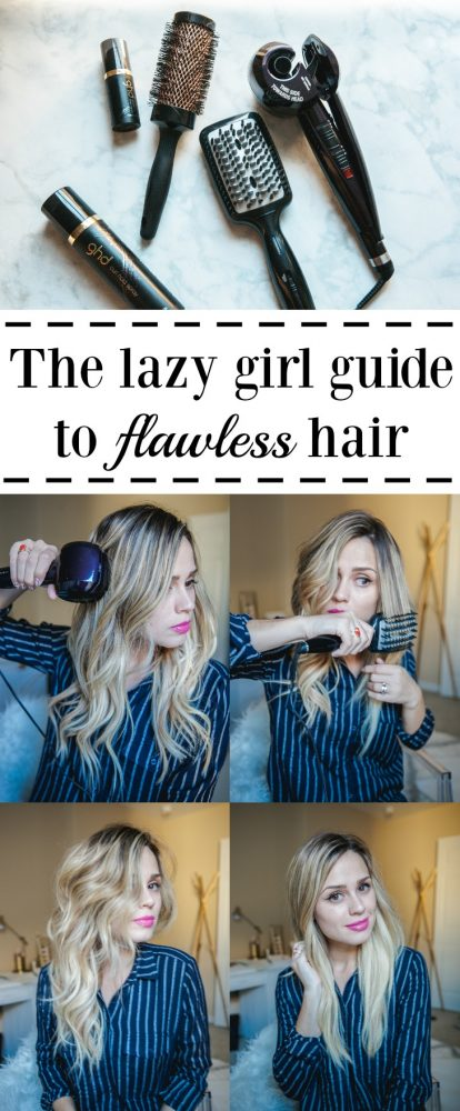 Flawless Hair: Beauty and Lifestyle blogger Elly from Uptown With Elly Brown shares the lazy girl guide to flawless hair with Conair.