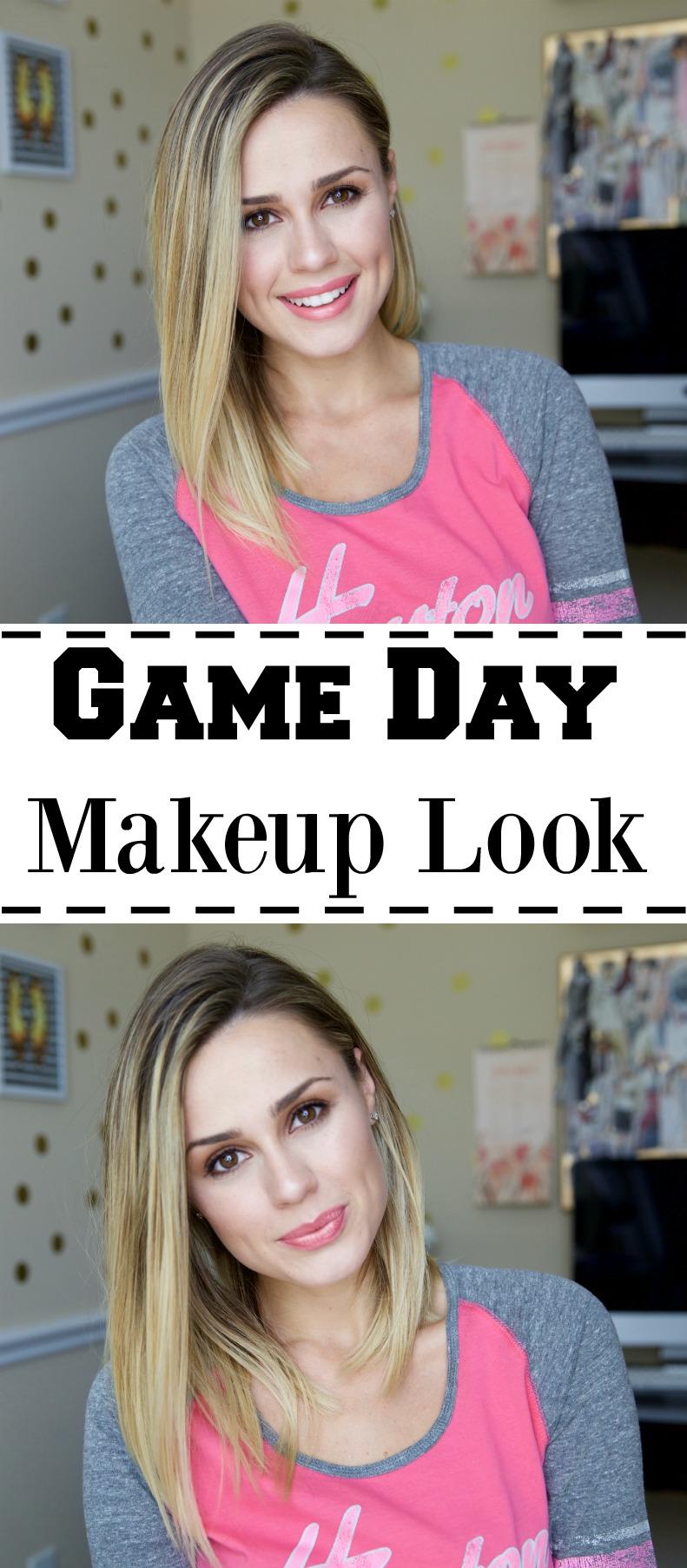 Game Day Makeup look | Drugstore Makeup Look | Drugstore Tutorial | Uptown with Elly Brown