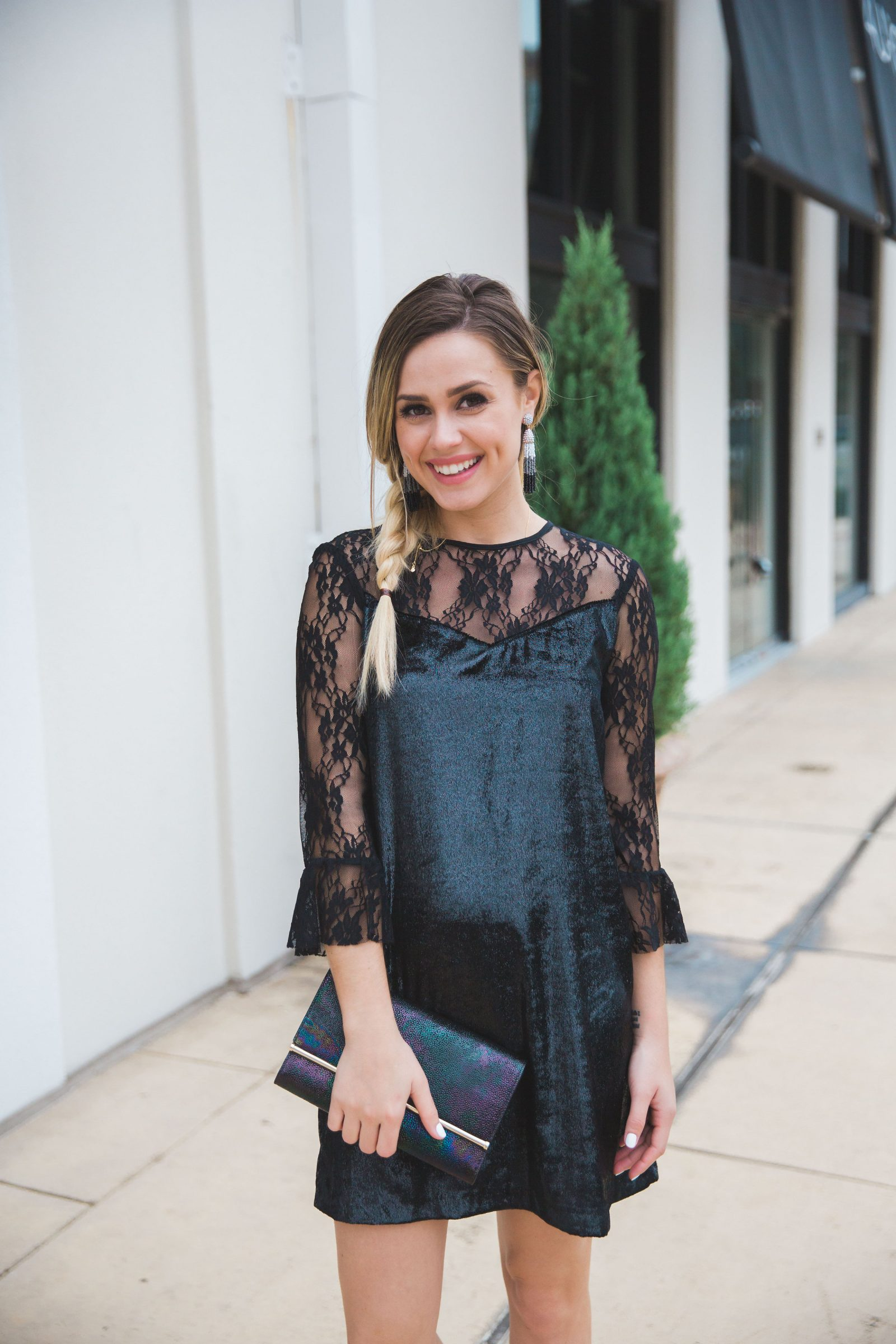 Holiday Dress Idea   Holiday outfits   What to wear for the Holidays   Holiday dress under $50   Uptown with Elly Brown