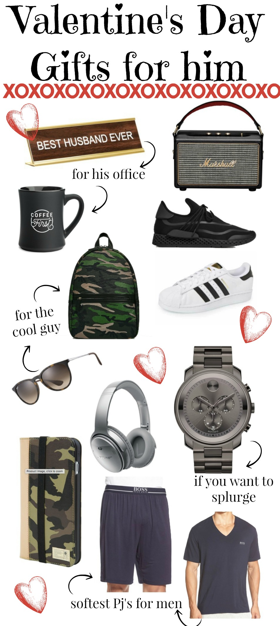 valentine's day gift ideas for him | gift ideas for him | Valentine's Day | Uptown with Elly Brown