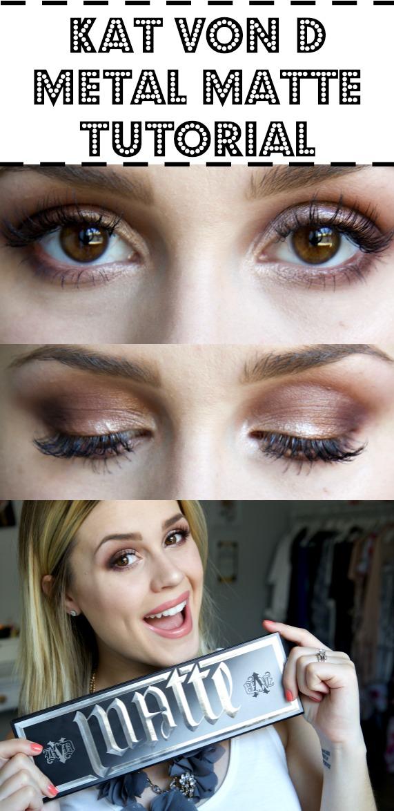 Kat Von D Tutorial | Eyeshadow look | Eyeshadow Tutorial | Uptown with Elly Brown