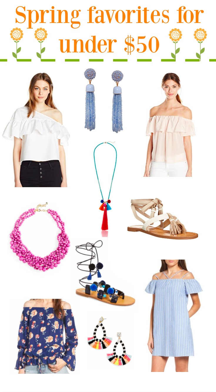 Spring favorites under $50   Spring Favorites   Spring Trends 2017   Spring Fashion   Uptown with Elly Brown