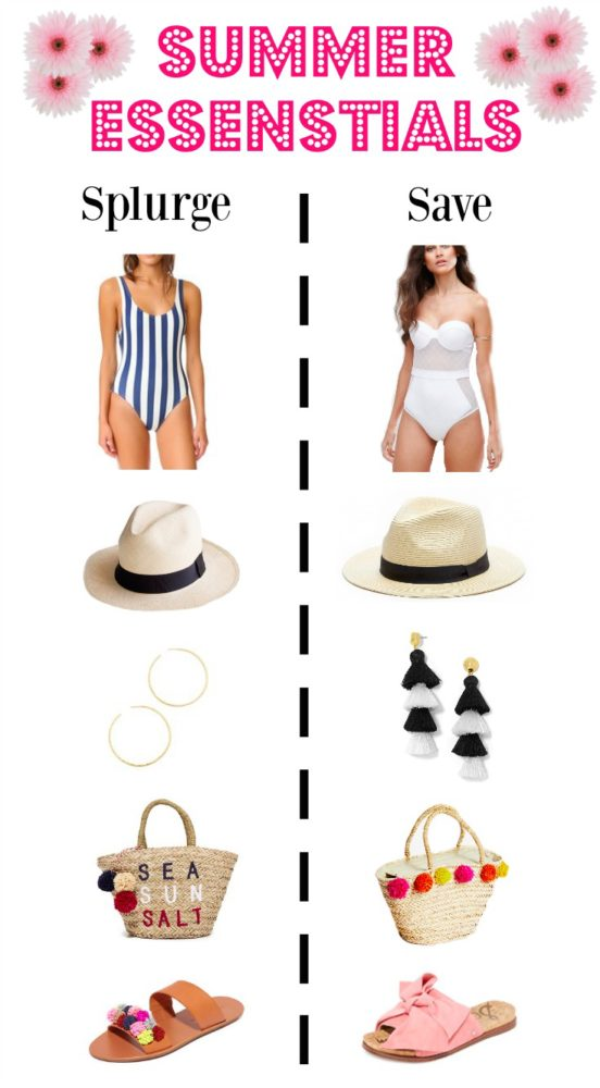 Summer essentials | Splurge or Save | Summer Must-haves | Uptown with Elly Brown