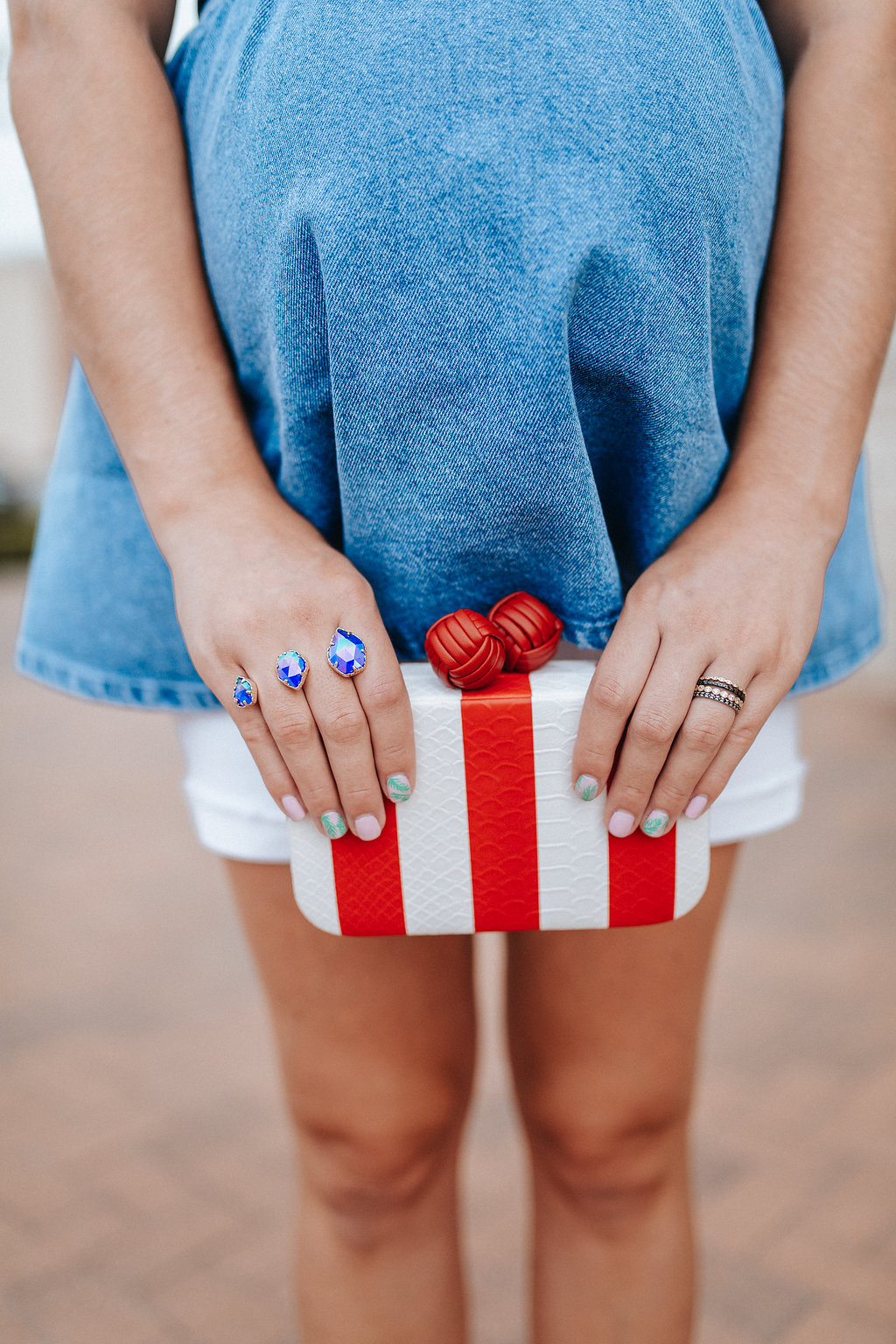 4th of July Outfit - Maternity Style by Houston fashion blogger Uptown With Elly Brown
