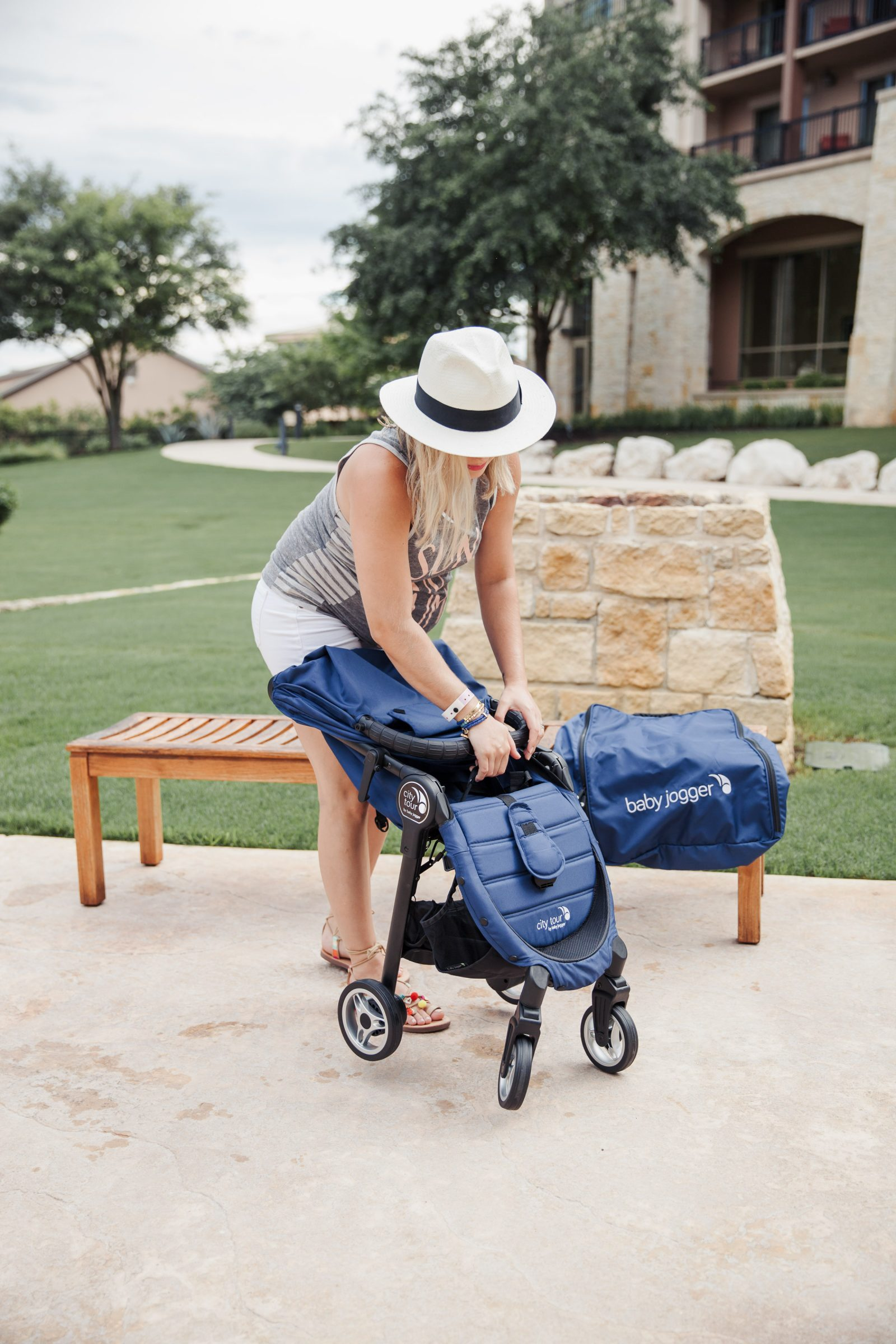 Baby Jogger City Tour Stroller Review by Houston blogger Uptown with Elly Brown