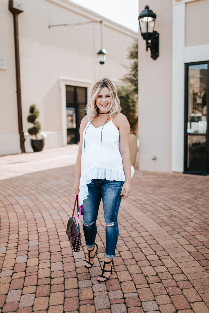 Summer Trends: How to Wear The Ruffles Fashion by Houston fashion blogger Uptown with Elly Brown