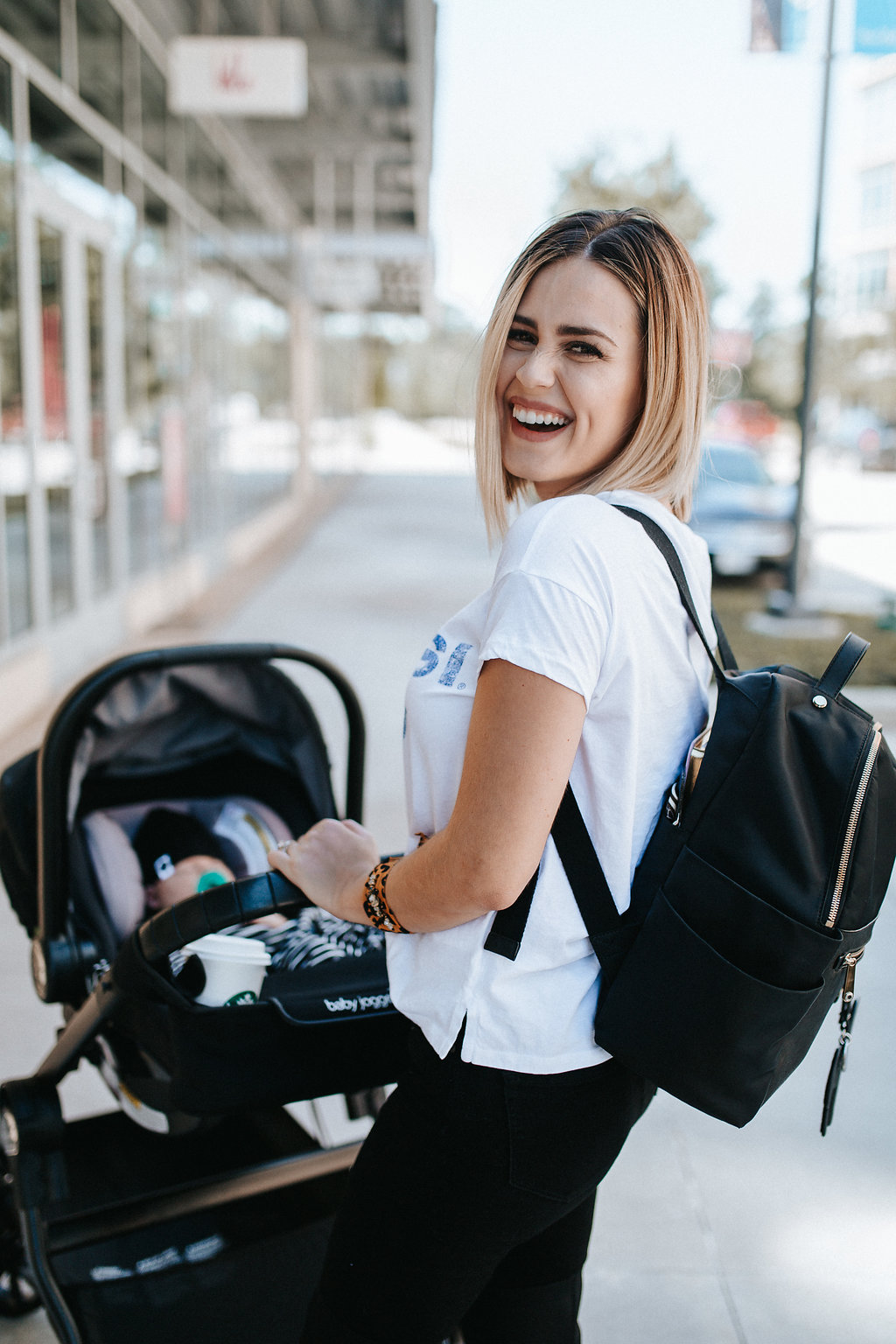 Our favorite Spots to Stroll with Our City Select Lux Stroller by Houston mom blogger Uptown with Elly Brown