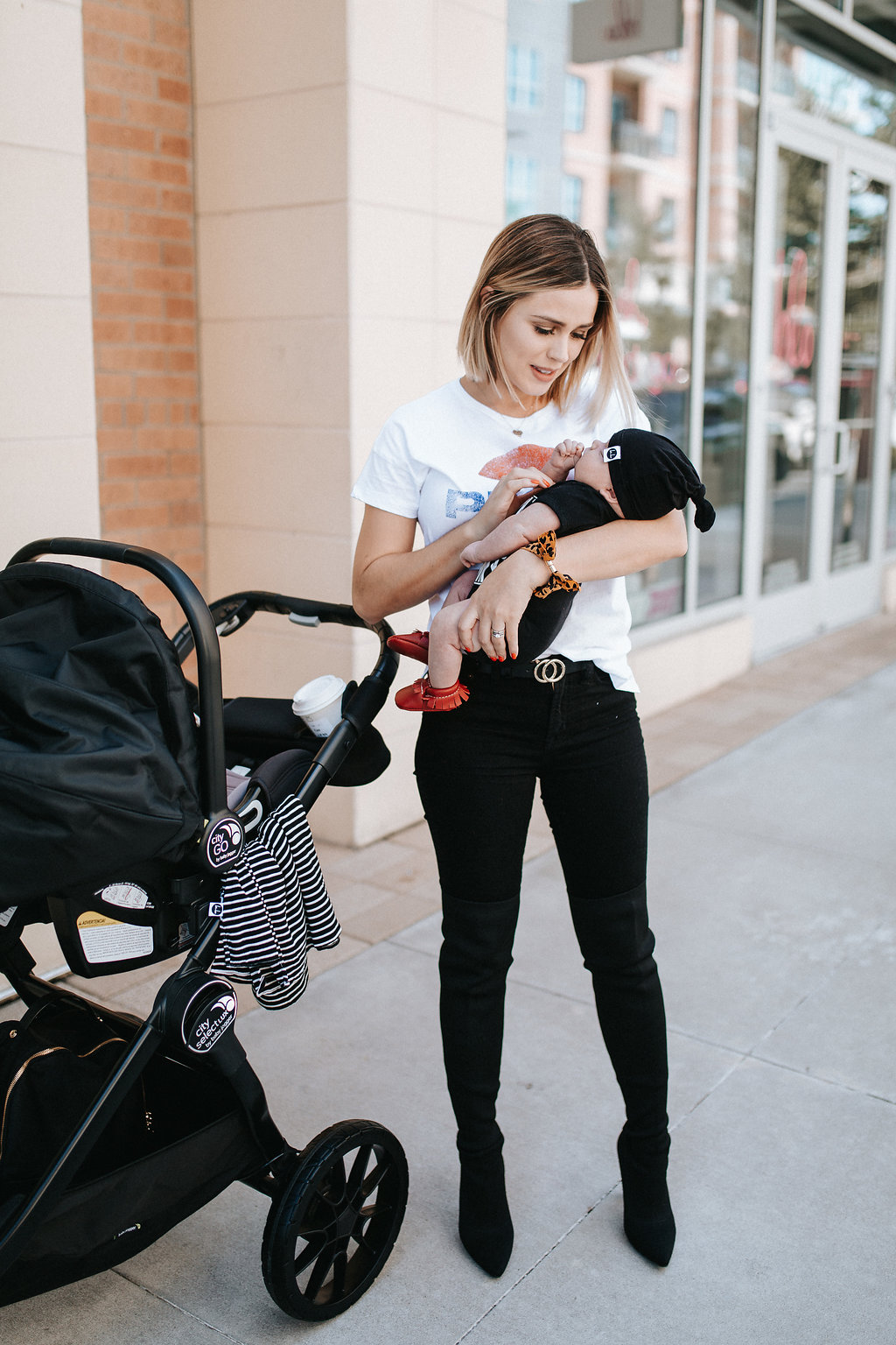 City Select Lux Stroller | Mommy and Me outfit | Uptown with Elly Brown