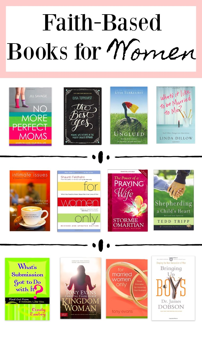 Faith-Based books for women | Christian books for women | Uptown with Elly Brown