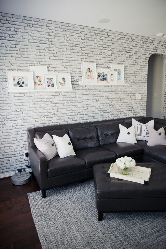 Walls Need Love wallpaper   Living room decor   Decor inspo   Living room inspo   Uptown with Elly Brown