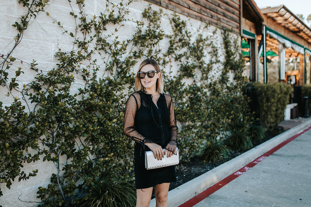 Houston lifestyle blogger Elly Brown shares her thoughts on being content and why we shouldn't care about what the Joneses are up to