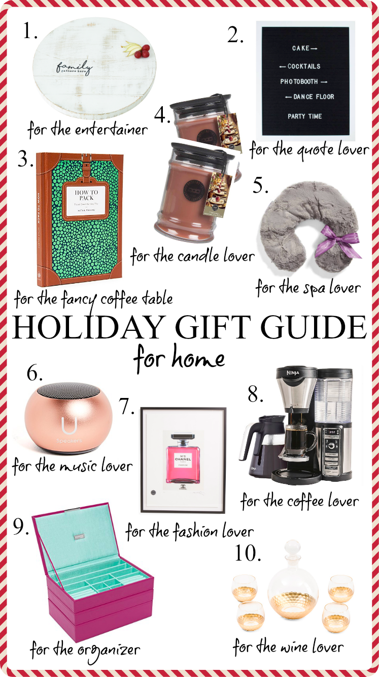Houston Lifestyle blogger Uptown with Elly Brown shares her top ten Gift Ideas For Home all under $150! Click here to see more!