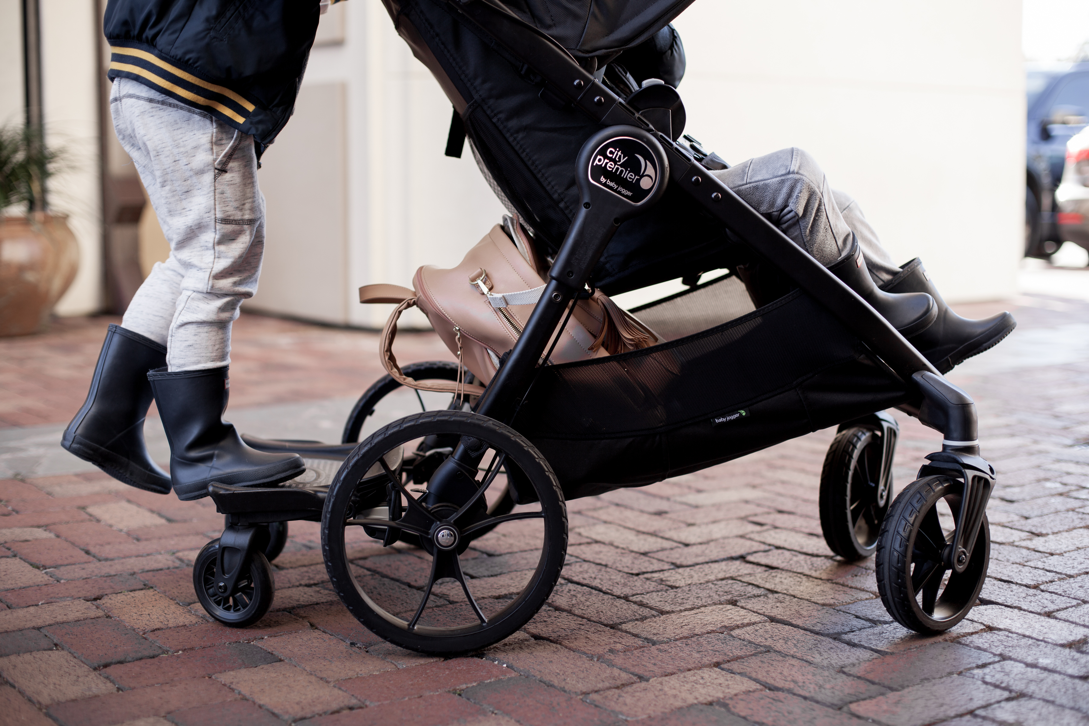 Houston Lifestyle blogger Uptown with Elly Brown shares a Baby Jogger Review on her City Premier stroller. Click here for more!