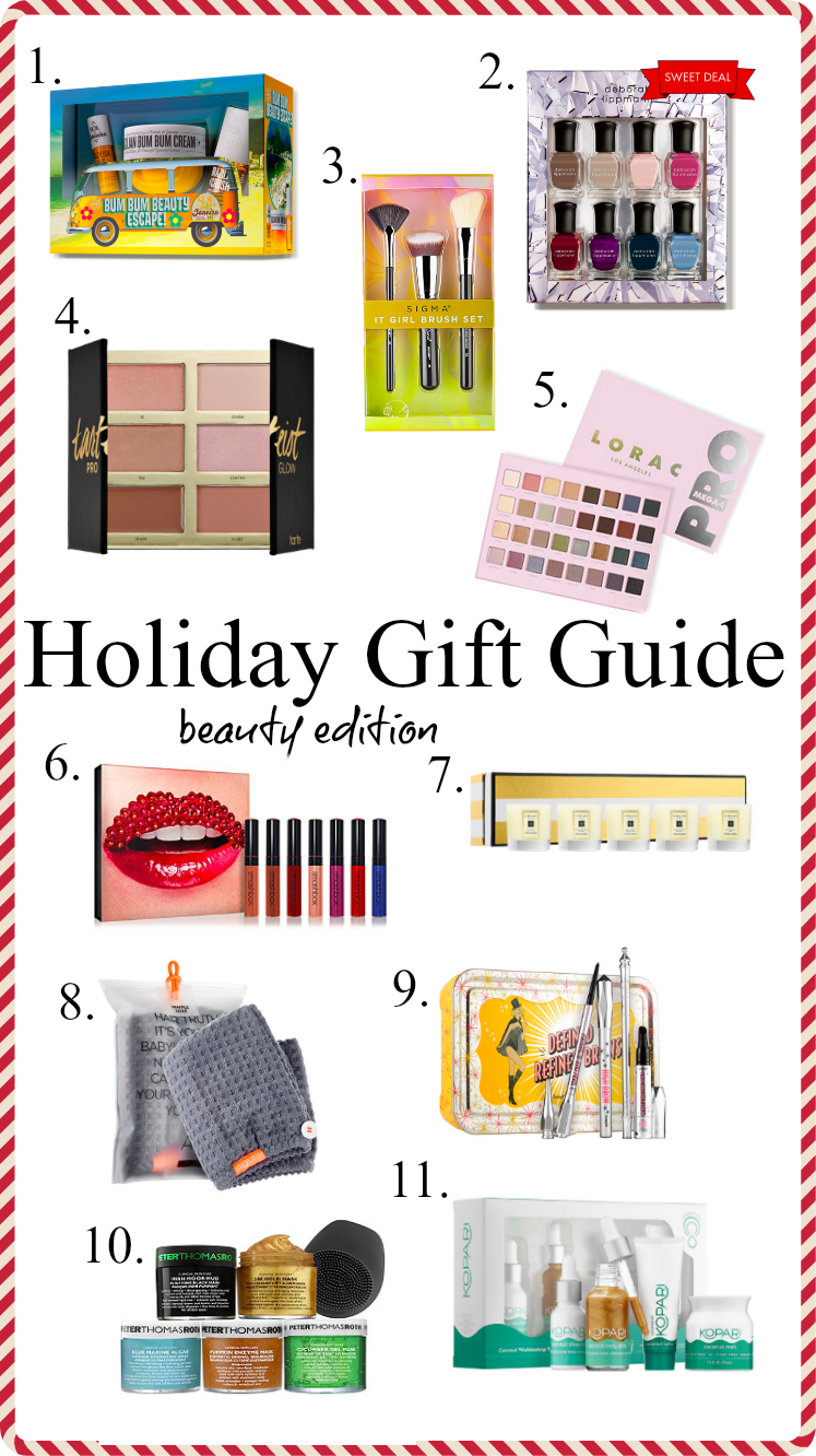 Houston Lifestyle blogger Uptown with Elly Brown shares her top 11 holiday Beauty Gifts for the beauty lover in your life. Click here for more!
