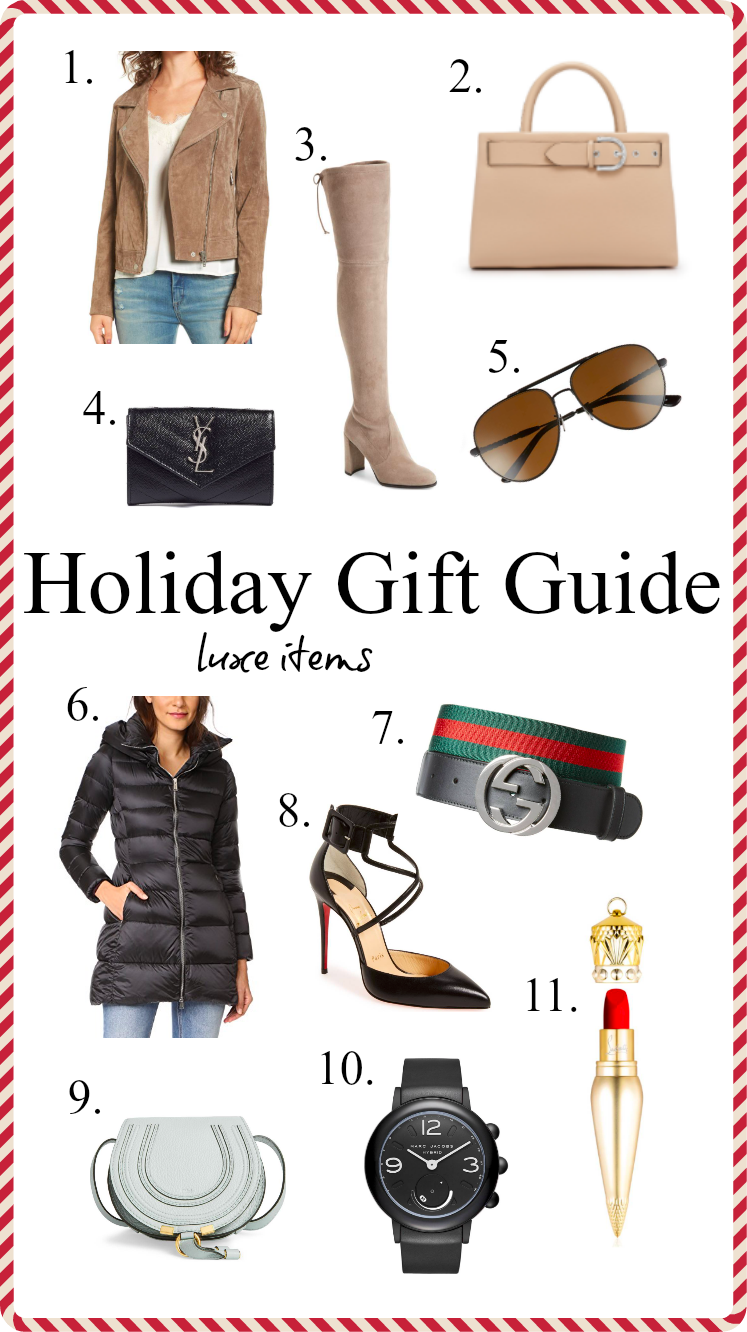 Houston lifestyle Blogger Uptown with Elly Brown shares 11 of her favorite holiday Luxury Gift Ideas and why each item is worth the money. Click here for more!