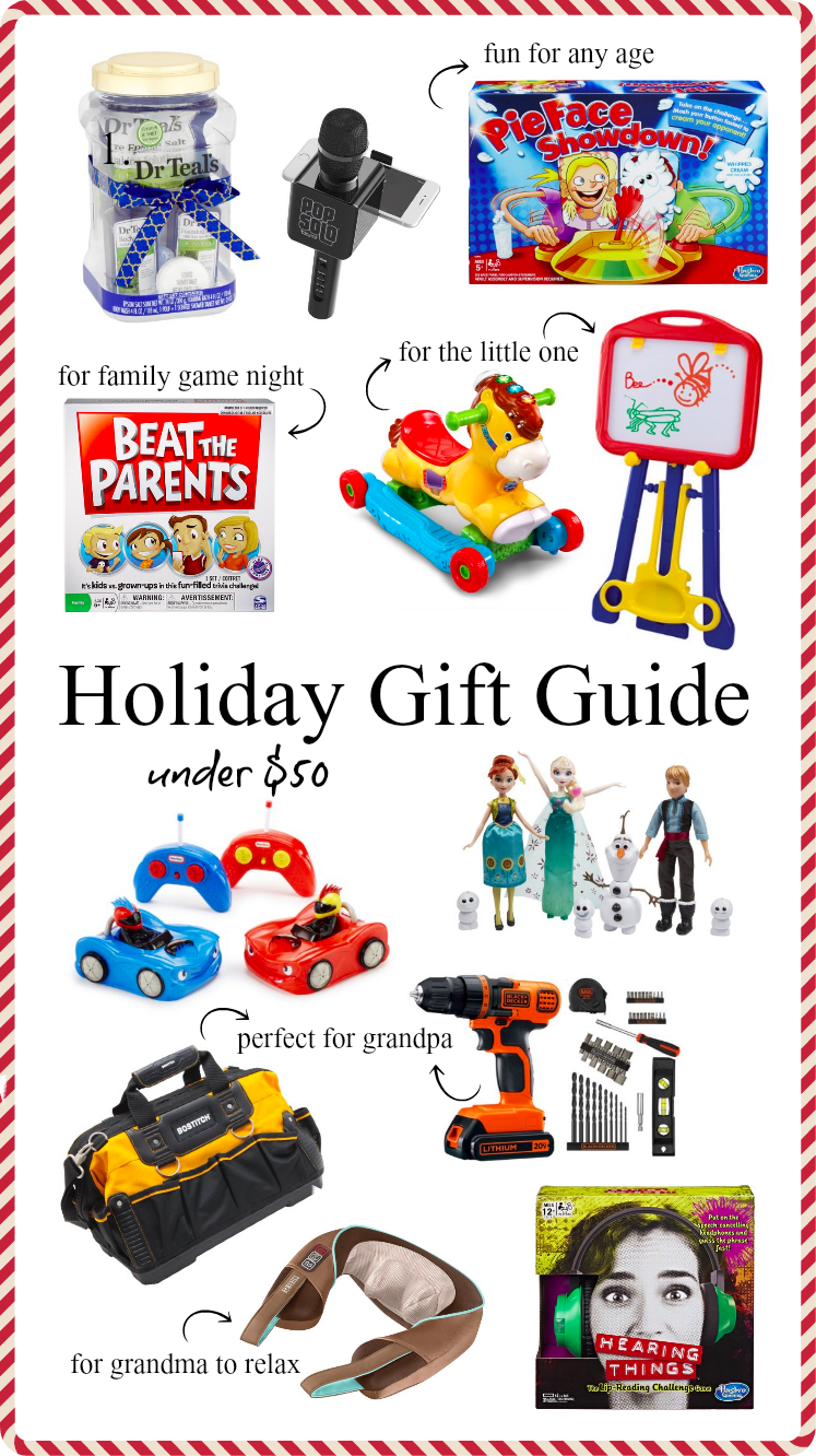 Houston Blogger Uptown with Elly Brown shares a Walmart Holiday Gift Guide under $50 and that is family-friendly. Click here for more!