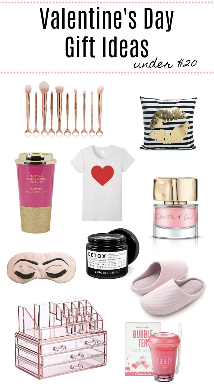 Houston lifestyle blogger Uptown with Elly Brown shares her top 10 Valentine's Gift Ideas Under $20. Click here to see all the items!