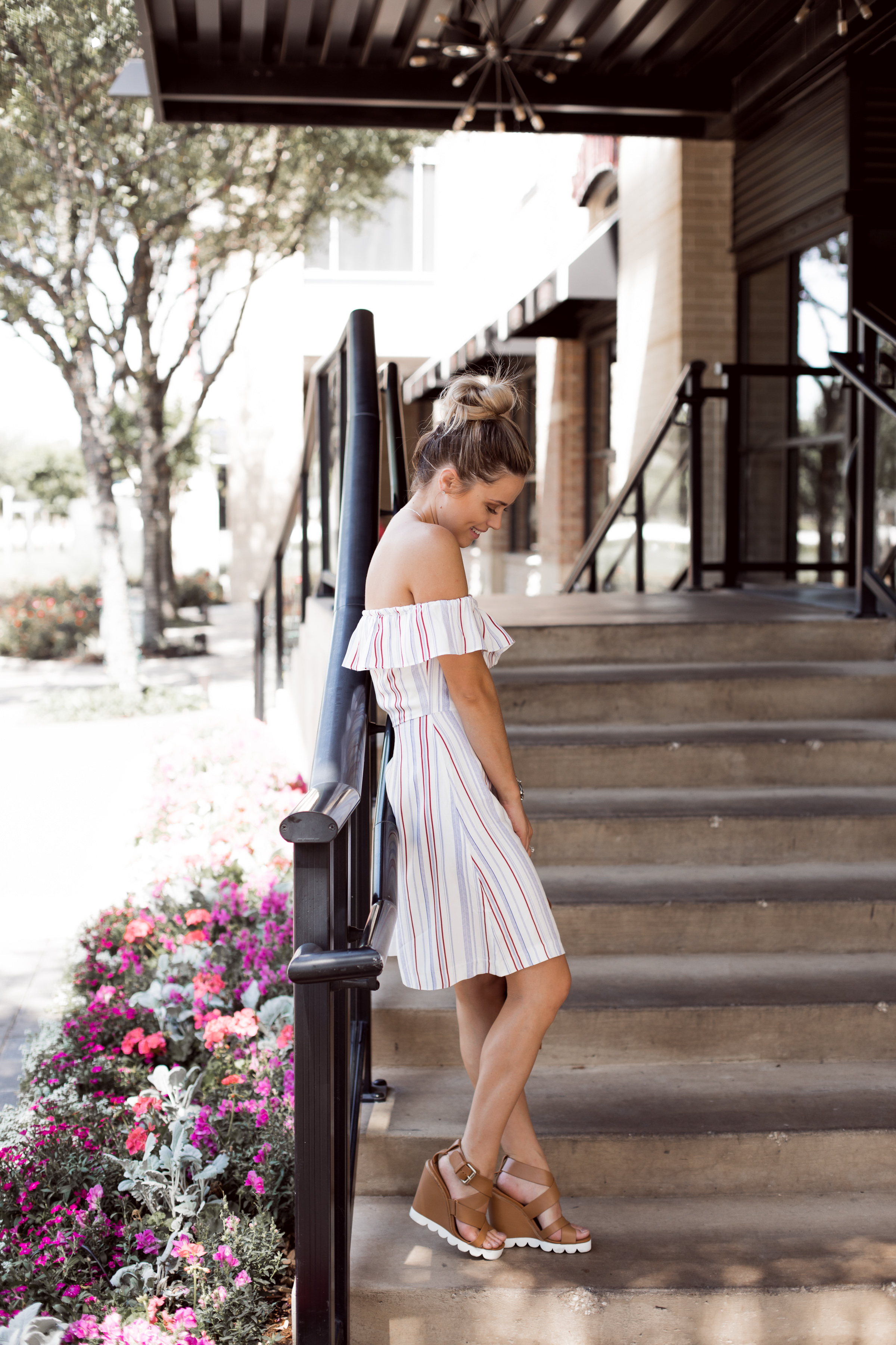 Amazon Summer Dress under $40 / Summer outfit / Chloe Bag / See by Chloe shoes / Spring dress / Spring outfit / Uptown with Elly Brown