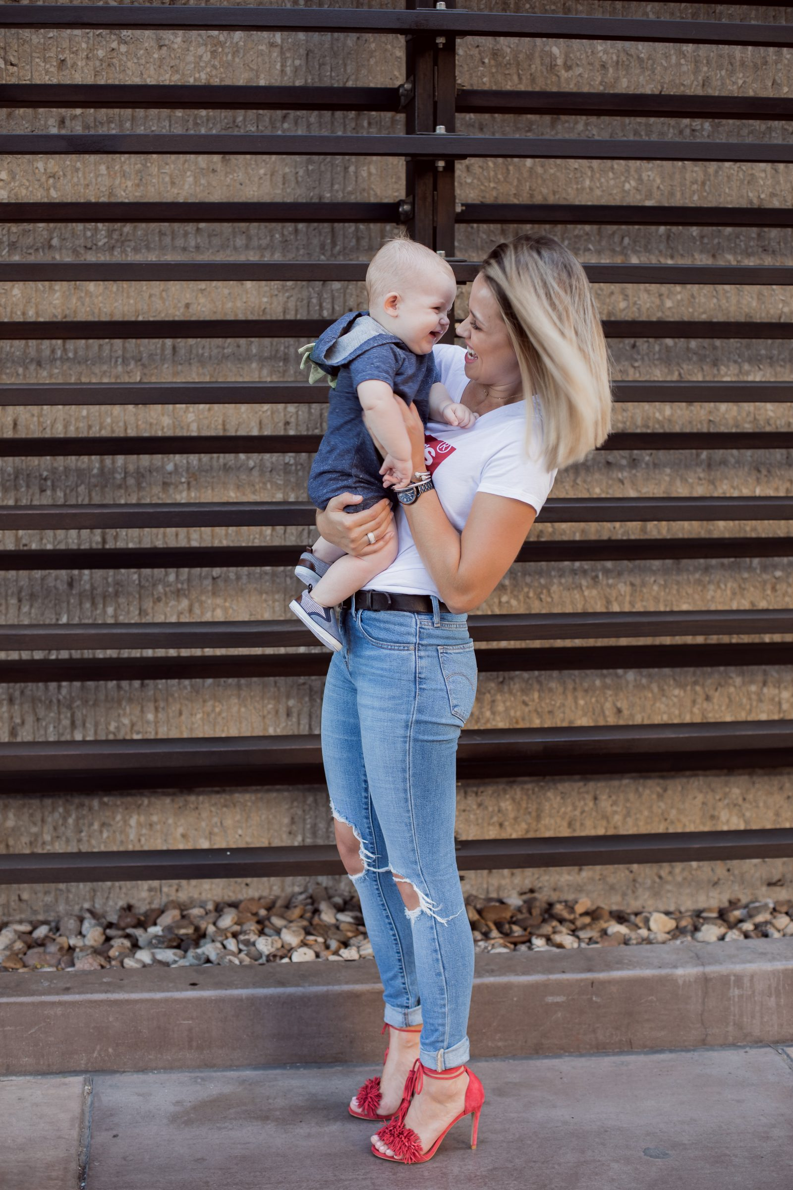 Houston lifestyle blogger Uptown with Elly Brown spills the beans on being a Boy Mom, and how life has changed. Click here for more!