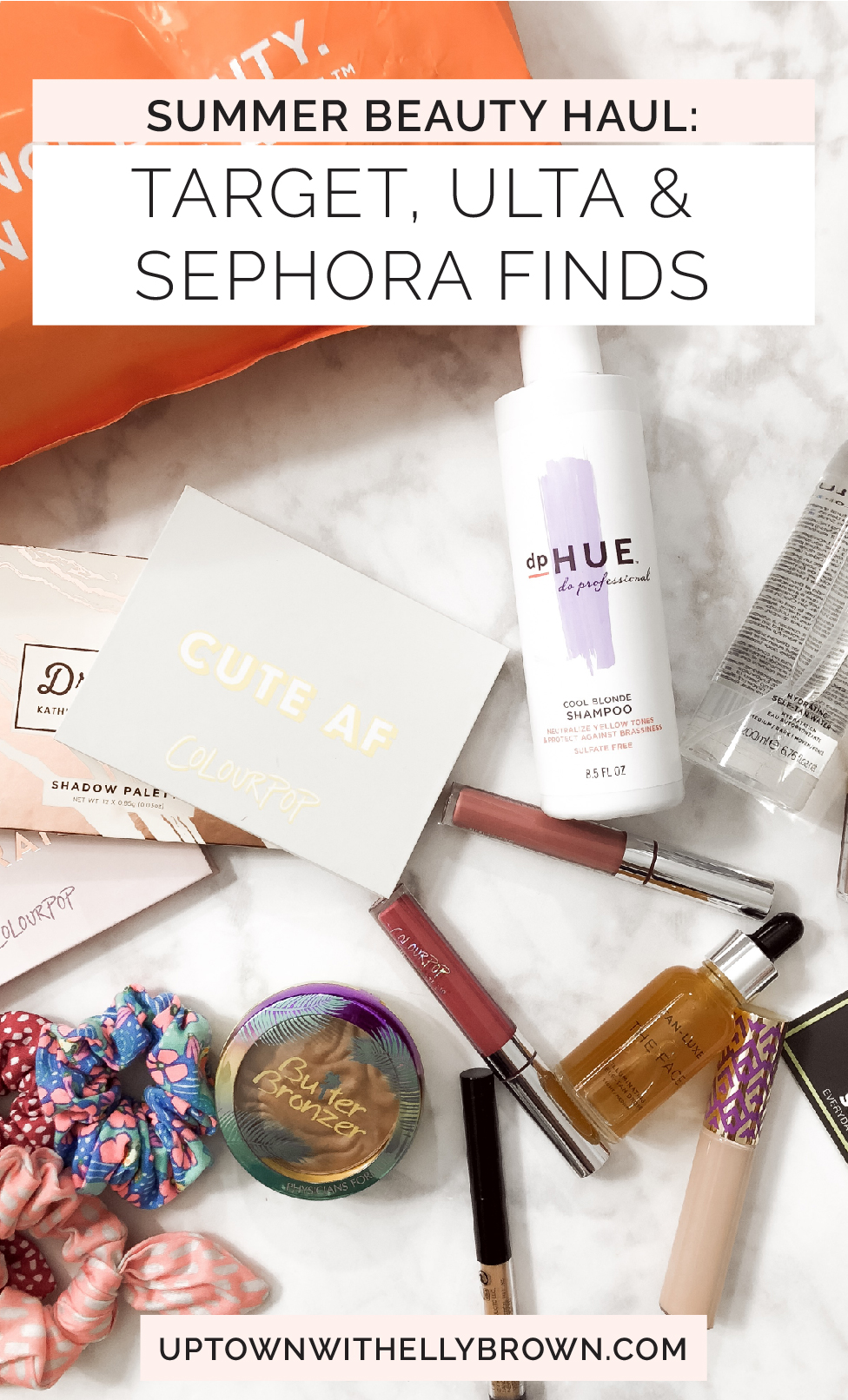Houston Beauty blogger Uptown with Elly Brown shares her Summer Beauty Haul from Ulta, Target, and Sephora. Click here for more!