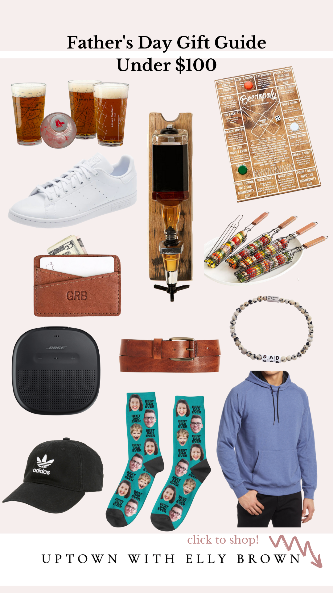 Houston blogger Uptown with Elly Brown shares a round-up of Father's Day Gift Ideas! From shoes to electronics see the full list here!