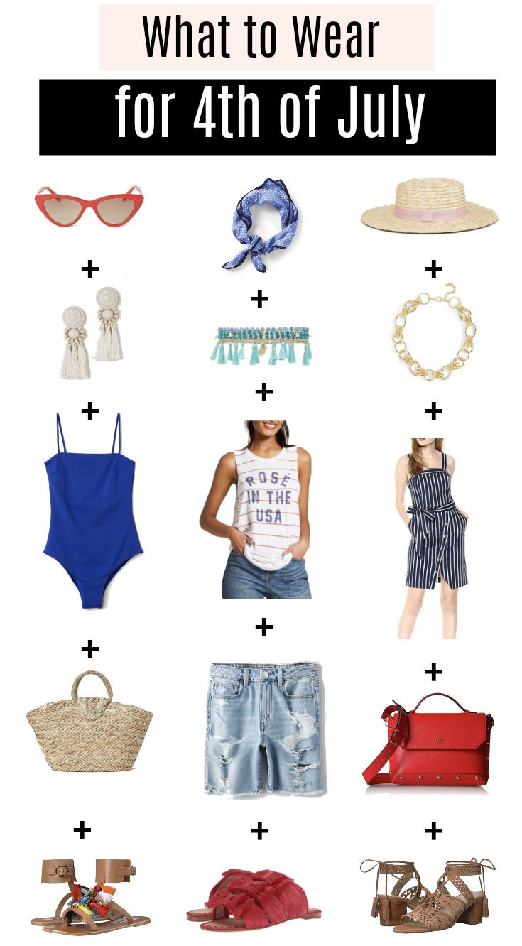 Houston fashion blogger Uptown with Elly Brown shares 3 different 4th of July Outfit Ideas that will get you in the patriotic mood. Click here for more!