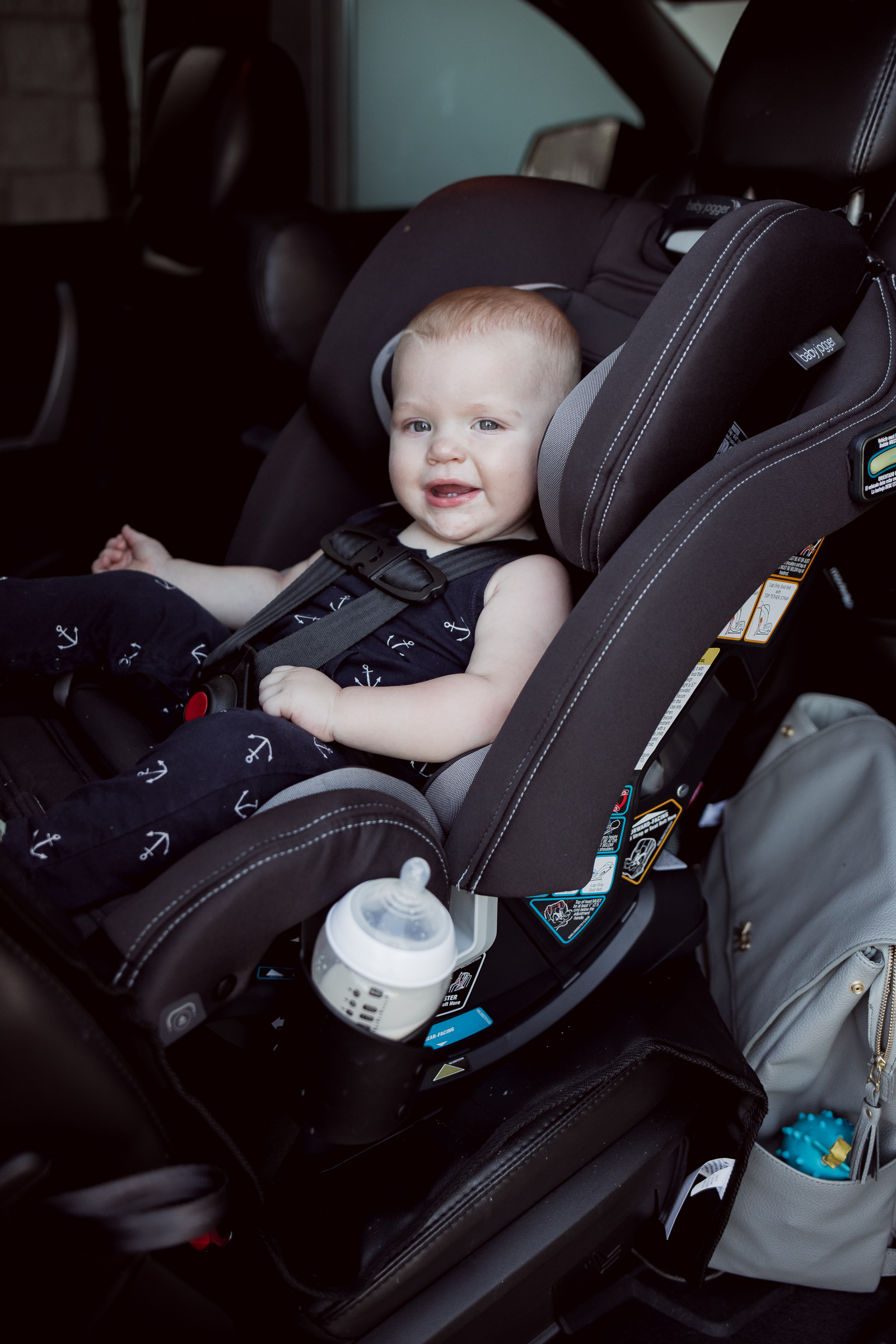 Houston blogger Elly Brown shares her thoughts on the Baby Jogger City View Car Seat