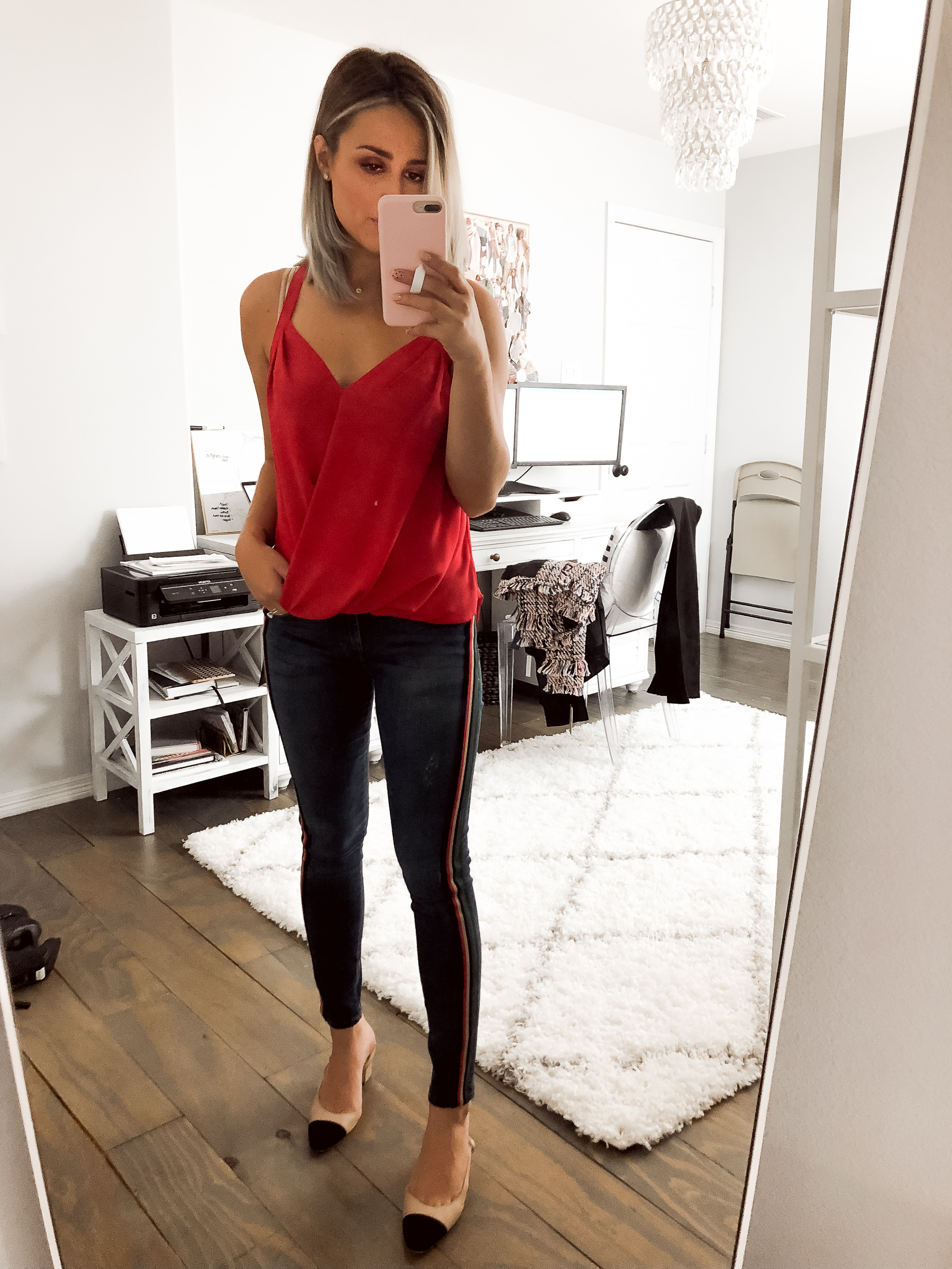 Houston fashion blogger Uptown with Elly Brown shares her Instagram Round-Up outfits of what she's worn and talked about. Click here for more!