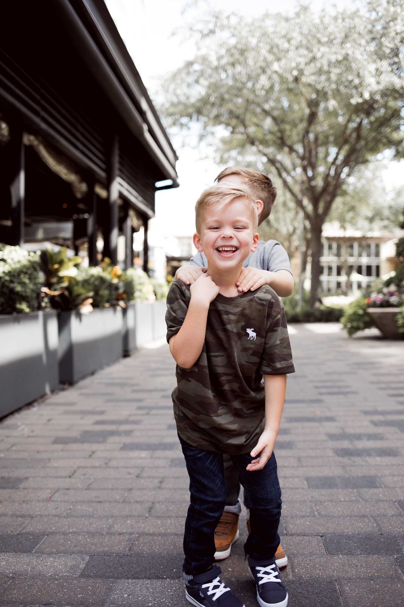 Houston fashion blogger Elly Brown shares how to dress your kids in style with Abercrombie kids for Back to School!