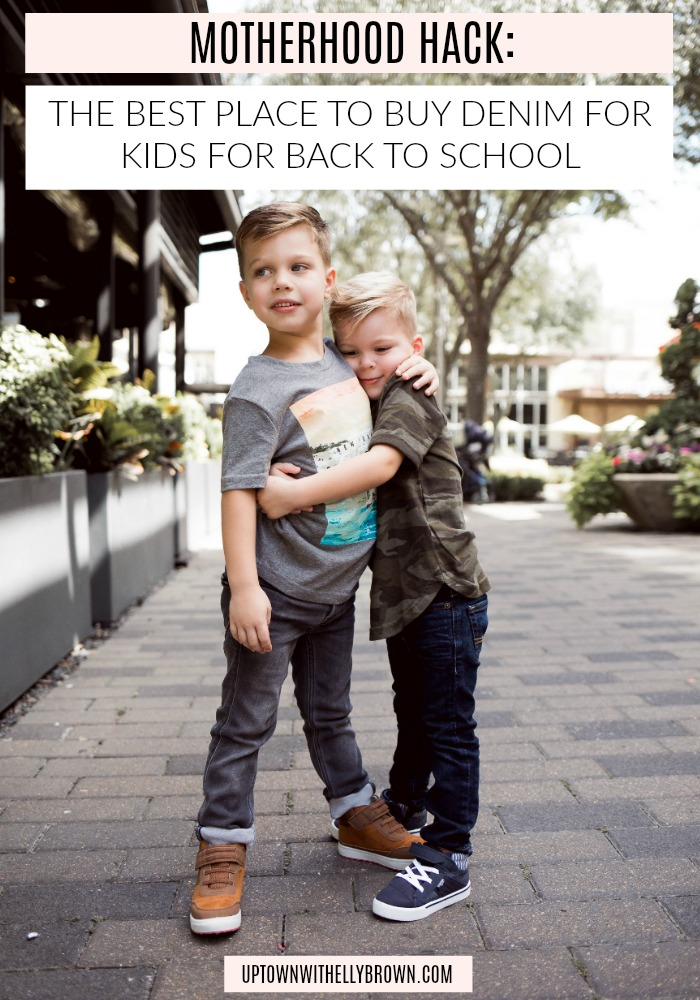 Houston fashion blogger Uptown with Elly Brown shares how to dress your kids in style with Abercrombie kids just in time for back to school.