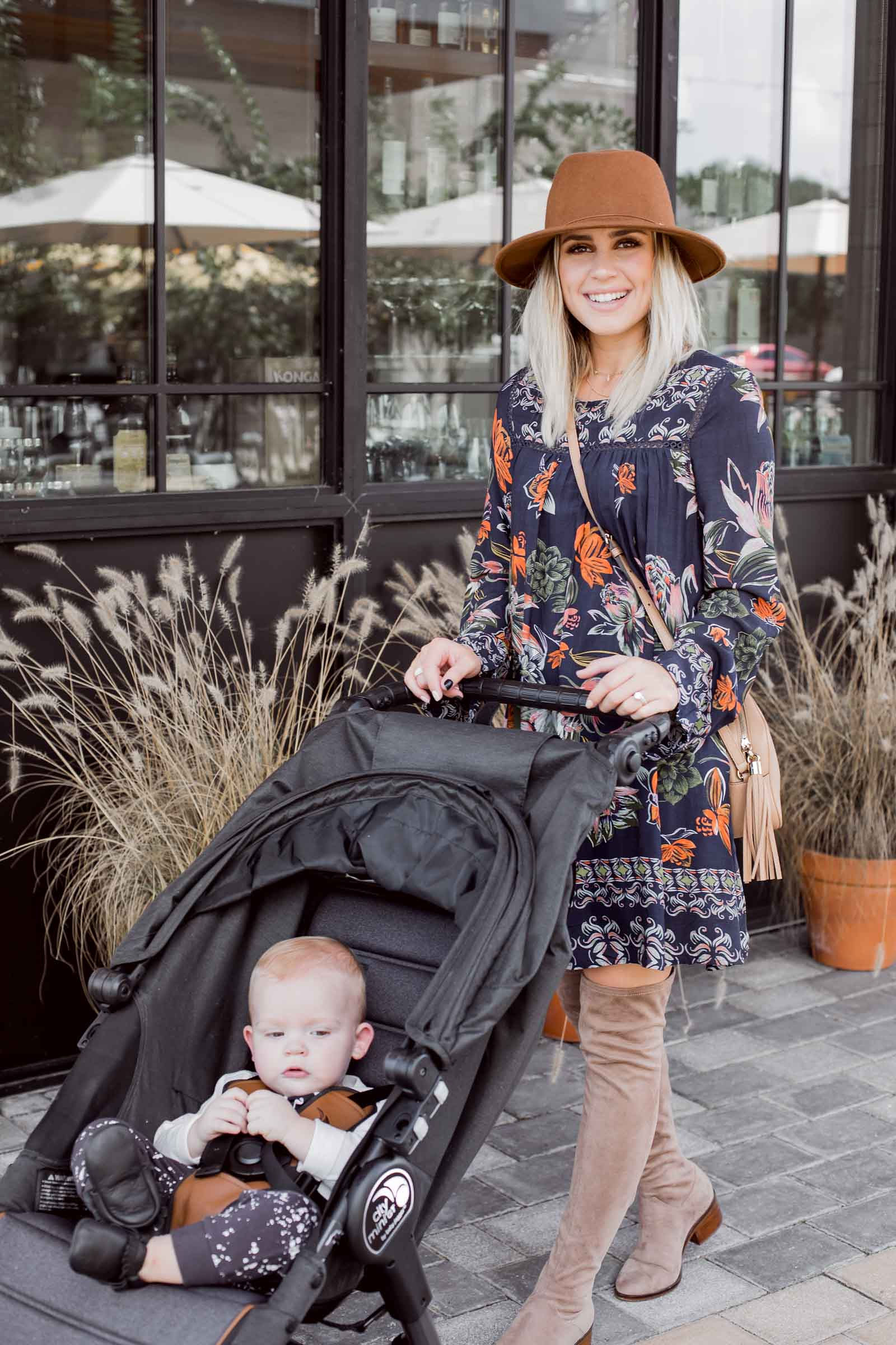 Houston lifestyle blogger Uptown with Elly Brown shares the new Baby Jogger City Mini GT Anniversary Stroller Review and why she loves it.