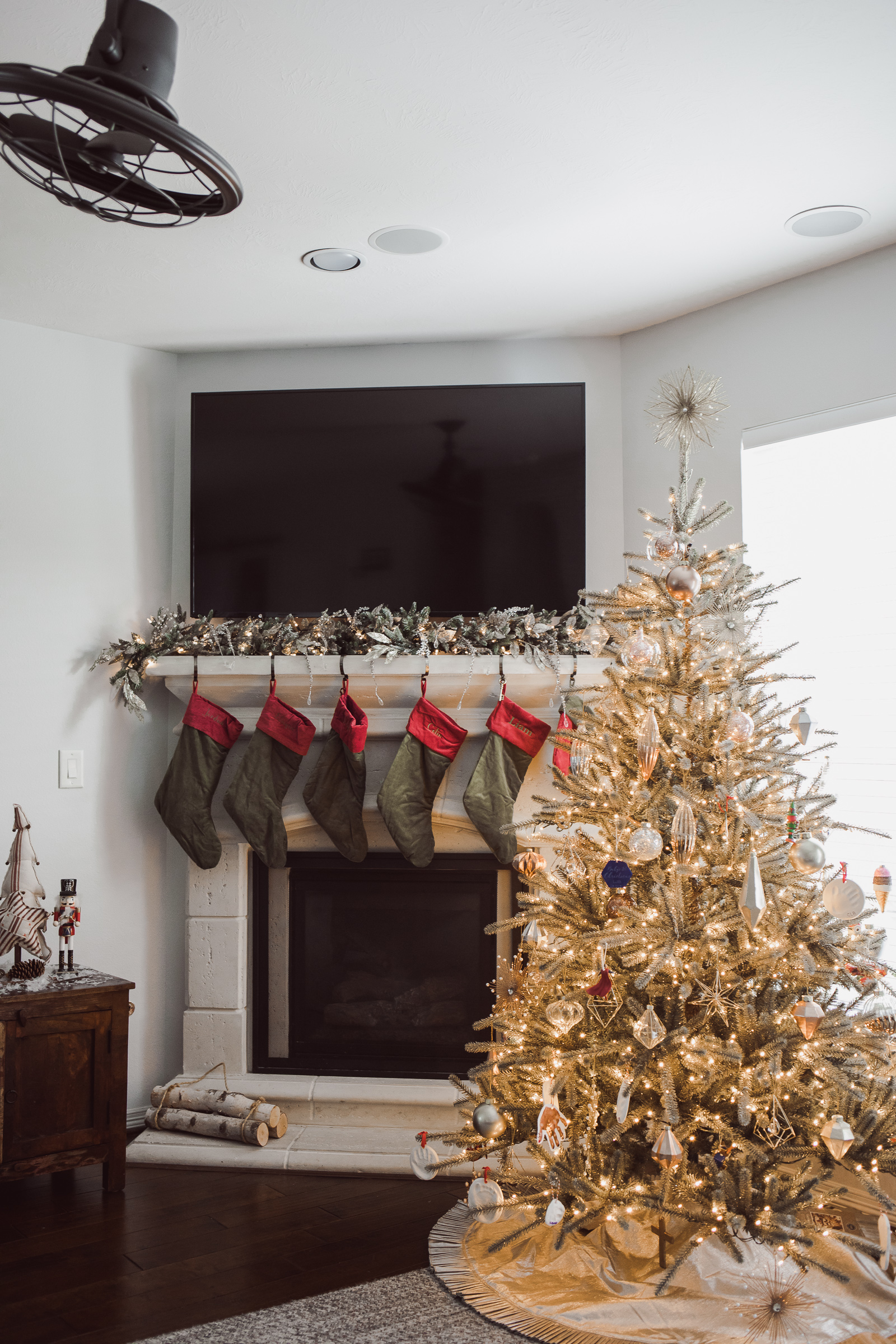 Houston lifestyle blogger Uptown with Elly Brown shares her Balsam Hill x Nicole Miller Christmas Decorations for her home.