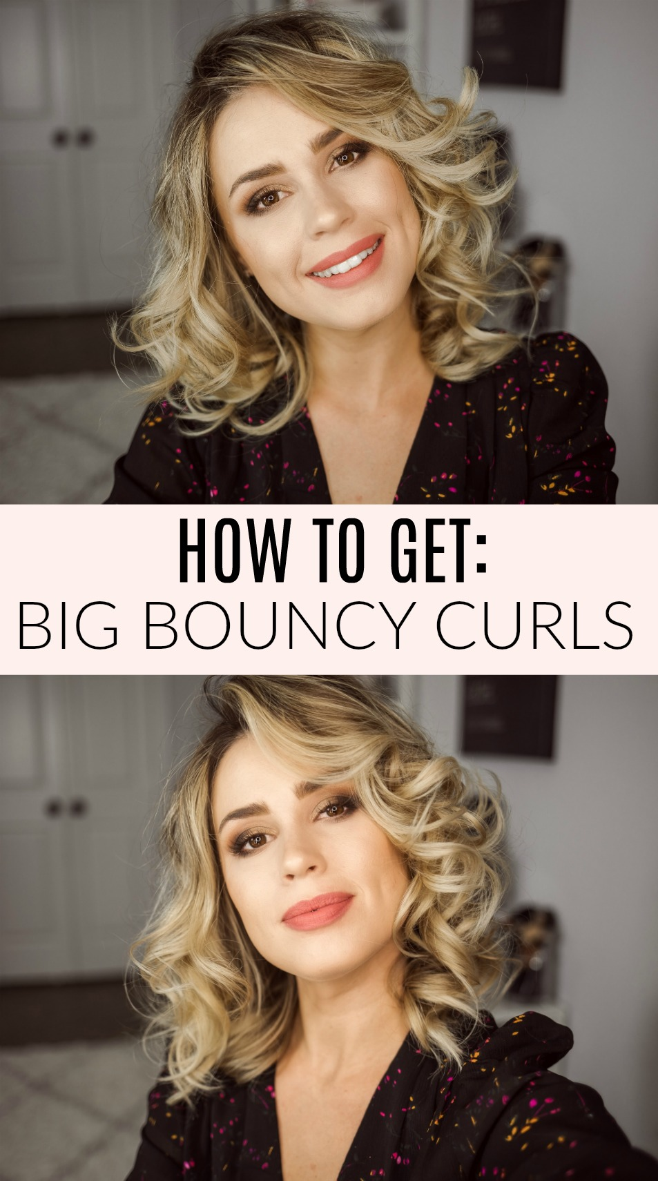Come see How Houston beauty blogger Uptown with Elly Brown gets her big Bouncy Curls and how she makes it last more than one day!