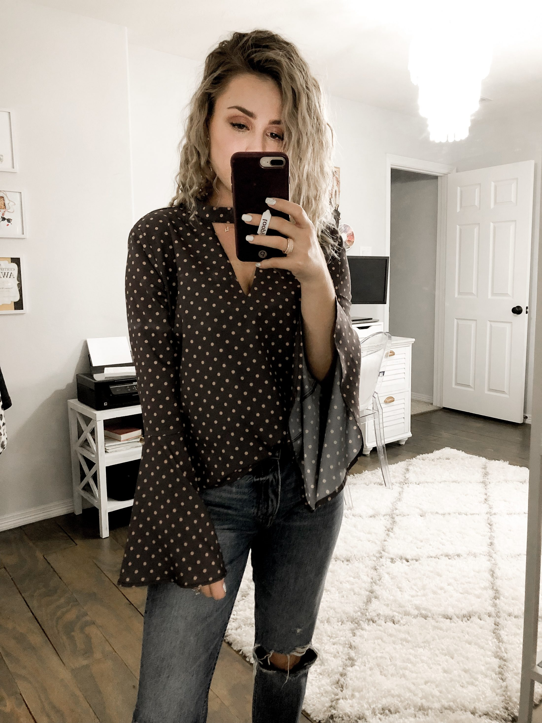 Houston Fashion blogger Uptown with Elly Brown shares her favorite fashion finds and tops from Amazon!