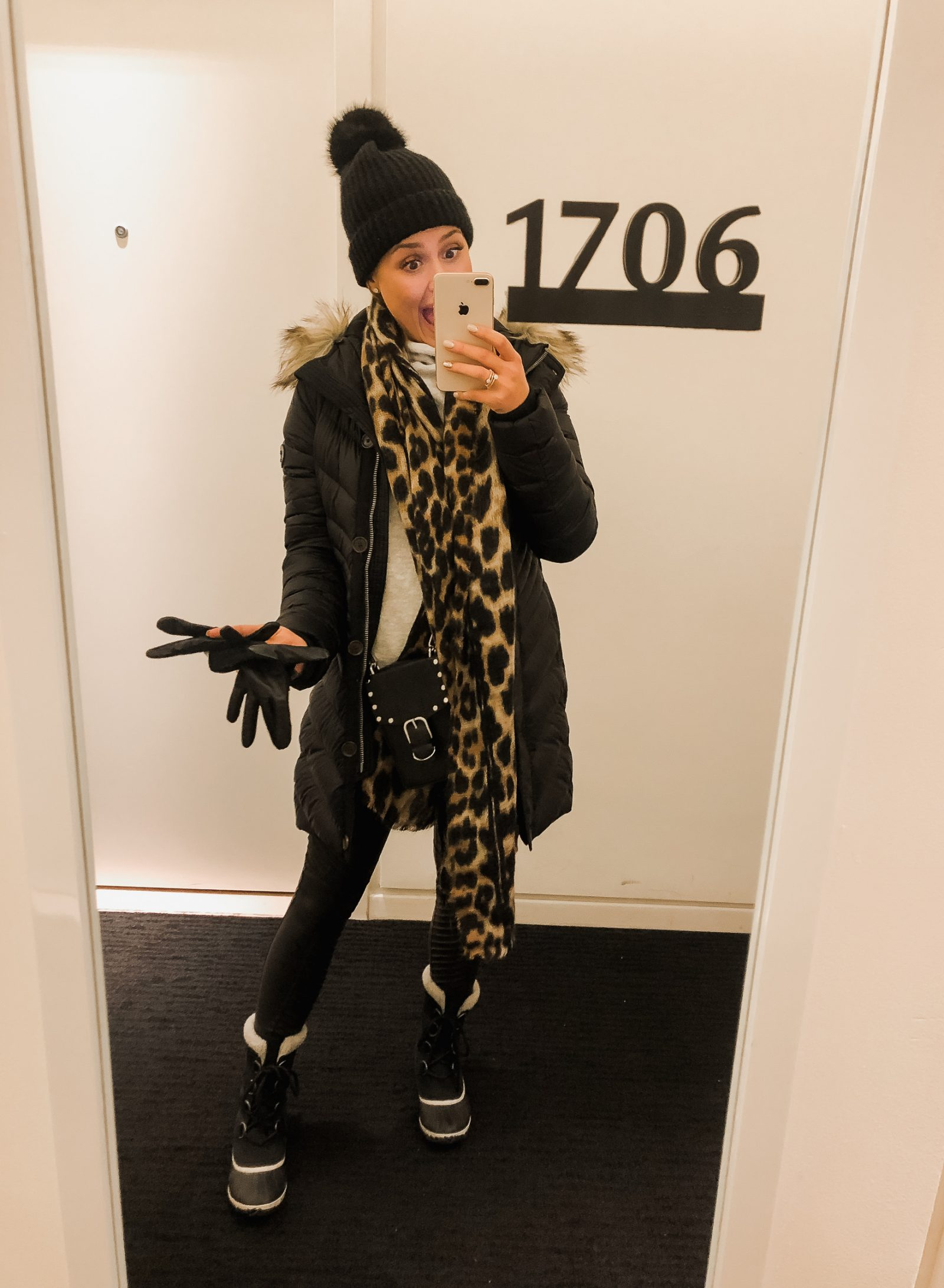 Houston Fashion blogger Uptown with Elly Brown shares what to wear to stay warm when in NYC winter