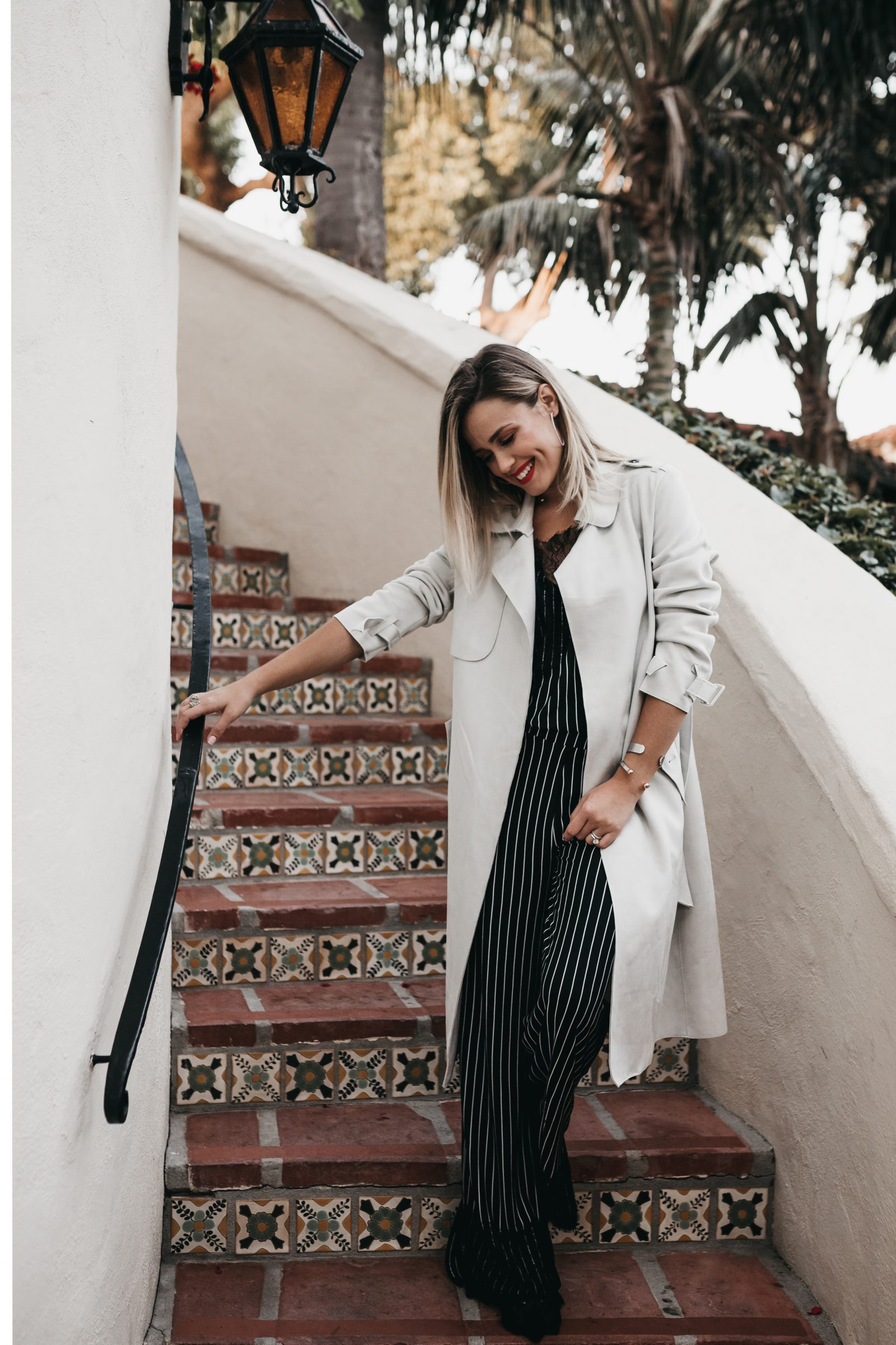 Houston fashion blogger Uptown with Elly Brown wears a two-piece set from Zara